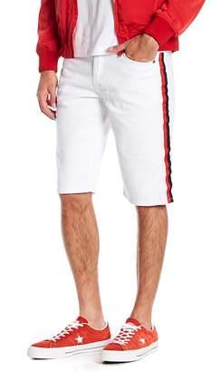 American Stitch Colorblock Stripe Jean Shorts