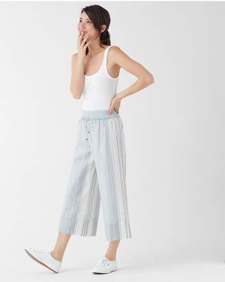 Splendid Tulum Stripe Wide Leg Crop Pant