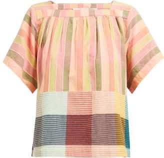 Ace&Jig Vista Striped Cotton Top - Womens - Multi