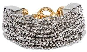 Alexander Wang Silver And Gold-Tone Bracelet