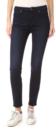 7 For All Mankind b(air) HW Skinny Jeans $179 thestylecure.com