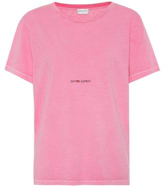 Saint Laurent Cotton T-shirt