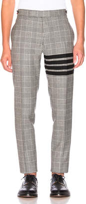 Thom Browne Heavy Wool Low Rise Trouser