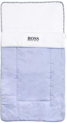 HUGO BOSS コットンオックスフォード&ジャージー スリーピングバッグ