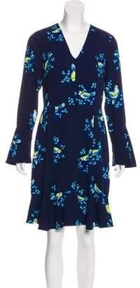Draper James Printed Knee-Length Dress