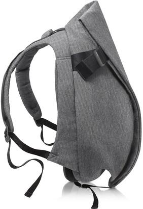 Côte&Ciel Isar Medium Black Melange Eco Yarn Backpack