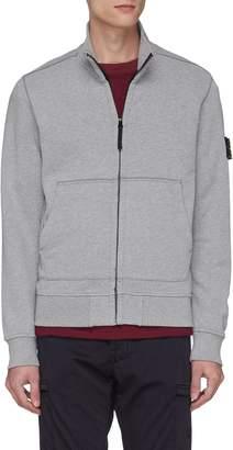 Stone Island Garment dyed zip track top
