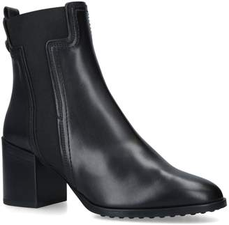 J.P Tods Leather Ankle Boots 50