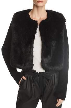Ramy Brook Abel Faux-Fur Jacket