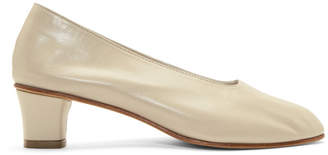 Martiniano Beige High Glove Heels