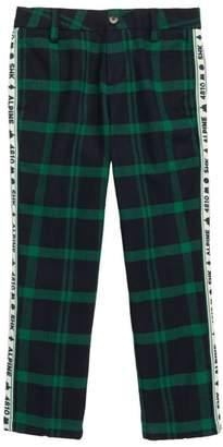 Scotch Shrunk Brushed Herringbone Plaid Pants