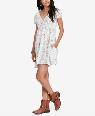 Denim & Supply Ralph Lauren V-Neck Floral-Print Dress $98 thestylecure.com
