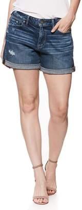 Paige Parker Denim Boyfriend Shorts