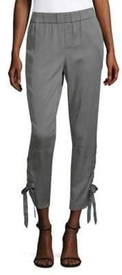Saks Fifth Avenue Lace-Up Jogger Pants