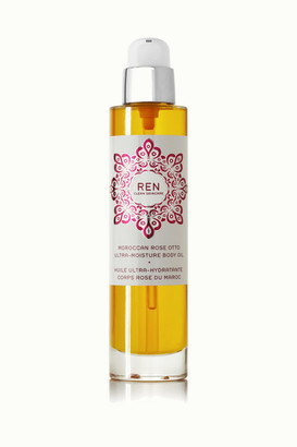 Ren Skincare Moroccan Rose Otto Ultra-moisture Body Oil, 100ml - Colorless