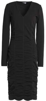 Opening Ceremony Ruched Stretch-Knit Dress
