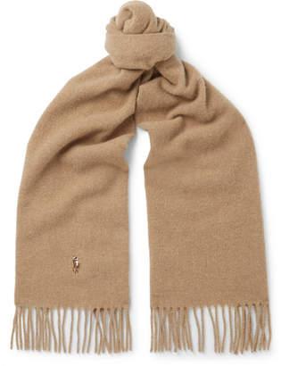 Polo Ralph Lauren Fringed Virgin Wool Scarf