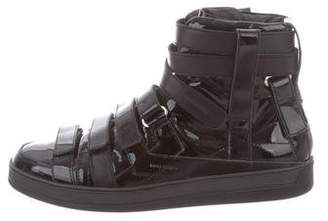 Christian Dior 2008 Lumiere Du Nord High-Top Sneakers w/ Tags