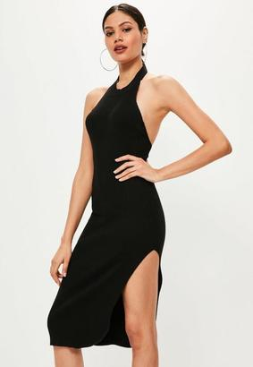 Low Back Black Dress - ShopStyle UK