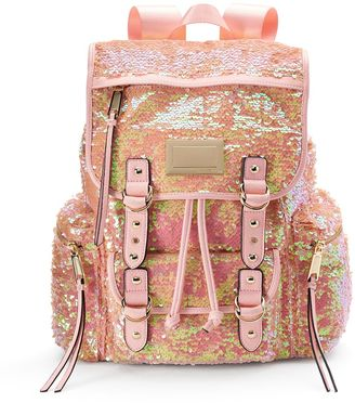 Juicy Couture Pink Sequin Backpack $99 thestylecure.com