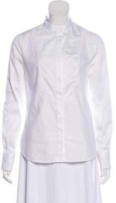 Billy Reid Long Sleeve Button-Up Top
