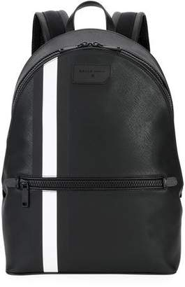 Bally Men's Gattes Trainspotting-Stripe Backpack