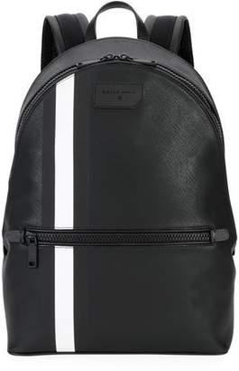 Bally Men's Gattes Trainspotting-Stripe Backpack