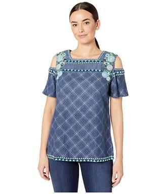Double D Ranchwear Spacely Sprockets Top