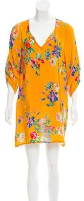 Tolani Silk Floral Dress