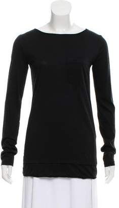 Alexander Wang Long Sleeve Jersey T-Shirt