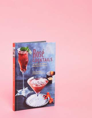 Books Rose Cocktails Summer Recipes Book