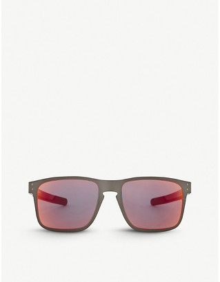 Oakley Holbrook metal polarised square-frame sunglasses