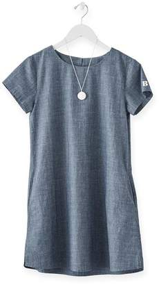 DAY Birger et Mikkelsen Mark And Graham Short Sleeve Chambray Dress