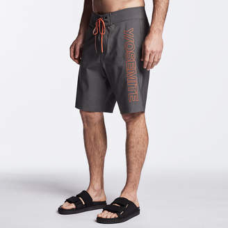 James Perse Y/OSEMITE GRAPHIC BOARDSHORT