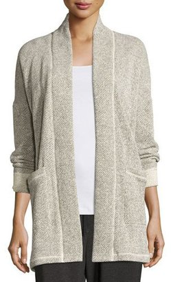 Eileen Fisher Twisted Terry Kimono Jacket $248 thestylecure.com