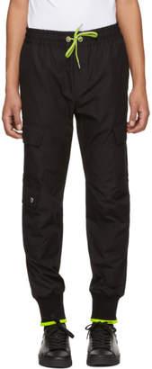 Versus Black Stripe Cargo Pants