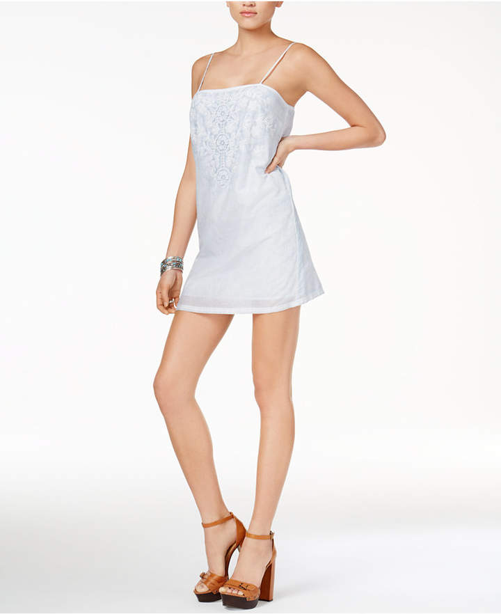 Guess Judy Embroidered Slip Dress