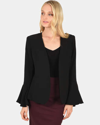 Forcast Cecil Fluted Sleeve Jacket