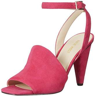 b9b5de96b09 at Amazon.com · Nine West Women s Quilty Suede Heeled Sandal