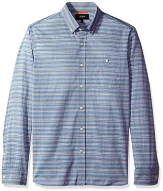 Jack Spade Men's Long Sleeve Multi Stripe Shirt