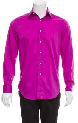 Etro Long Sleeve Dress Shirt