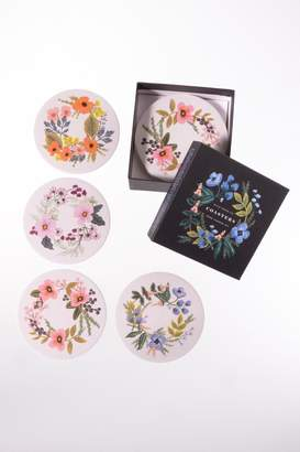 Rifle Paper Co. Floral Paper Coasters