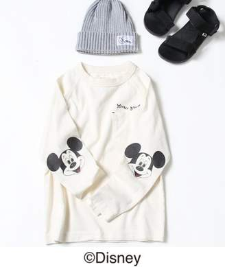 Coen (コーエン) - coen 【2018FW・coen キッズ / ジュニア】コーエン限定Disney(ディズニー)MICKEY(ミッキー)ロゴTシャツ