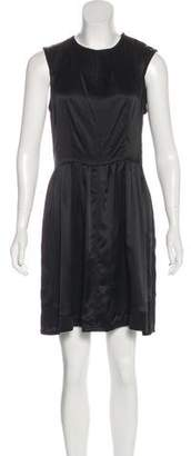 Proenza Schouler Silk Flare Dress