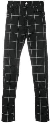 Love Moschino checked trousers