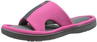 Isotoner Signature Women's Active Cut Out Slide Flat