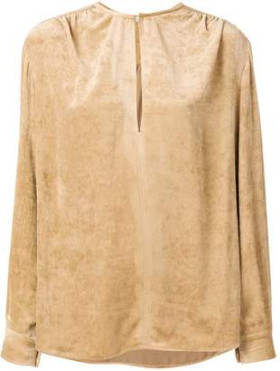Stella McCartney Alter Suede blouse