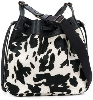 Tomas Maier gaucho cross body besace