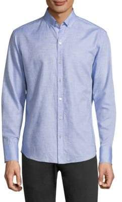 Zachary Prell Gomis Button-Front Shirt