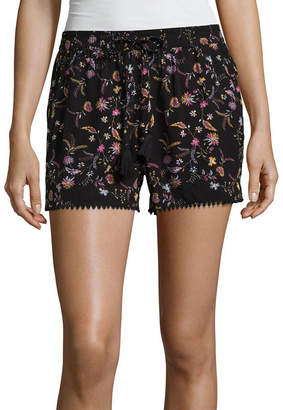 A.N.A Womens Mid Rise Soft Short-Tall